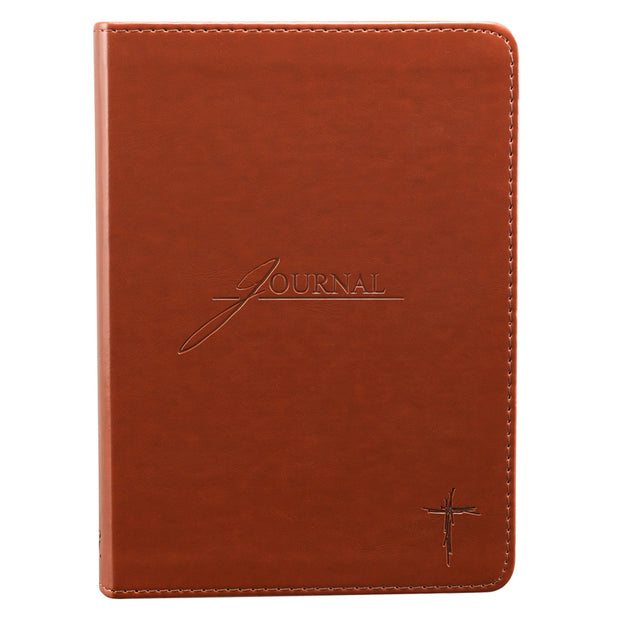 Saddle Tan LuxLeather Journal