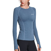 Load image into Gallery viewer, SEVEGO Women Long Sleeve Sports Shirt