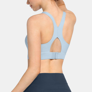 SEVEGO Classic Sports Bra with Triple Breasted