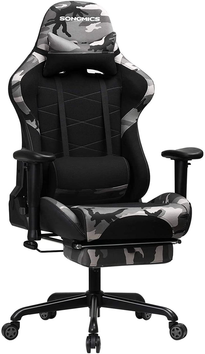 SONGMICS Gamingstol Camo Racing Stol