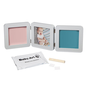 My Baby Touch 2 Print Pastel - Pink and Blue Baby Boutique