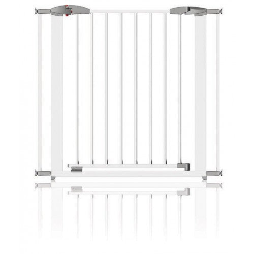 Clippasafe Gate Extendable swing Shut Metal White