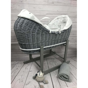 Cuddles Pod Rollover Sweet Dreams On Grey Wicker