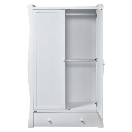East Coast Nursery Wardrobe Nebraska White