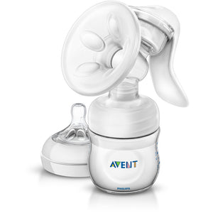 Avent Natural Manual Breat Pump with Bottle