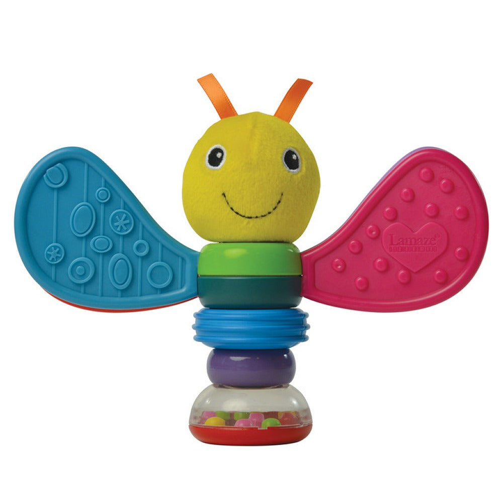 Freddie The Firefly Rattle - Pink and Blue Baby Boutique