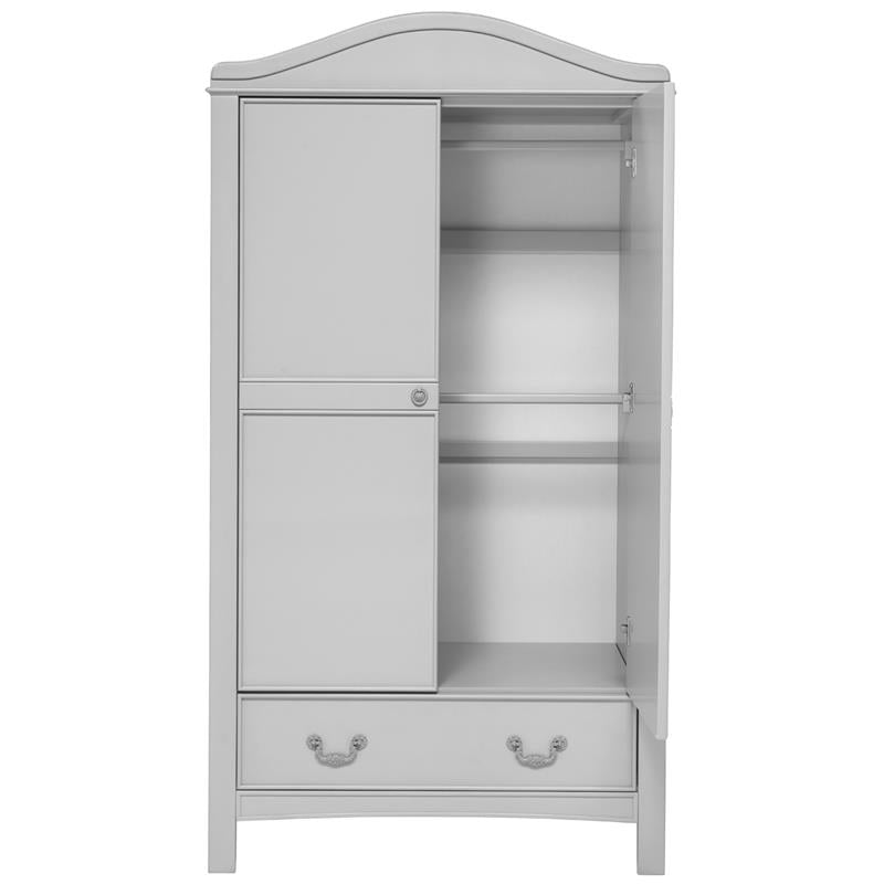 East Coast Nursery Wardrobe Toulouse French Grey