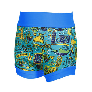 Zoggs Swimsure Nappy Deep Sea - Pink and Blue Baby Boutique