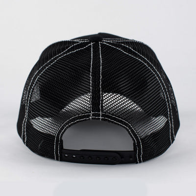 Black 'n' White Baseball Cap