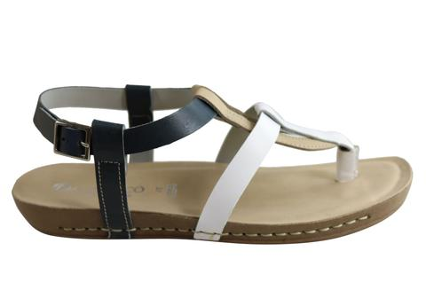 Andacco Botany Womens Comfortable Leather Sandals Made In Brazil