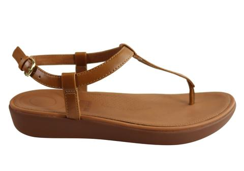 Fitflop Womens Comfortable Leather Tia Toe Thong Sandals