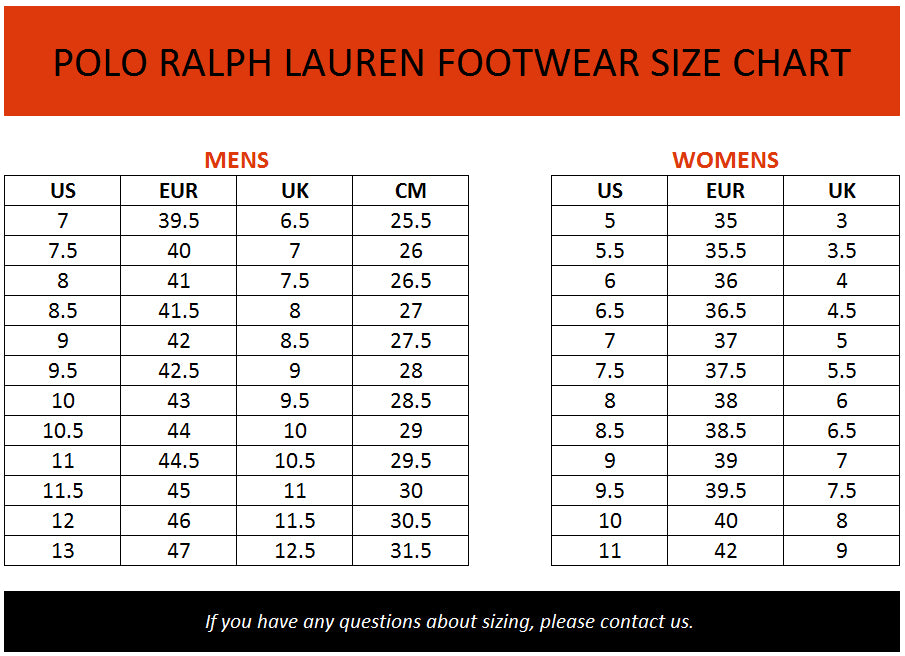 Where Can I Buy Ralph Lauren Shirts Size Guide Zone 9f419 882ad