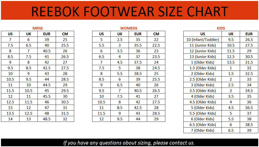 Clarks Men Shoes Size Chart
