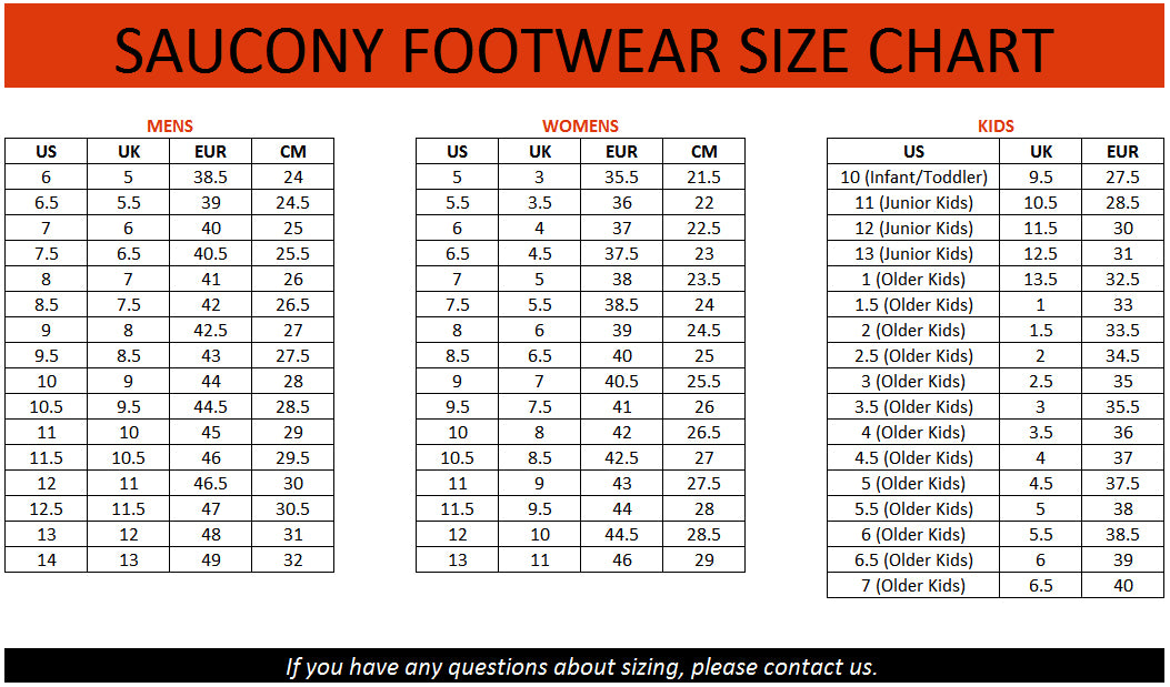 Width Sizing For Brooks Shoes