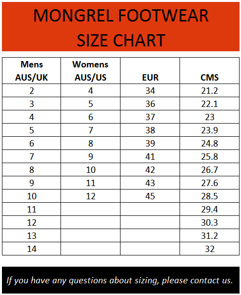 Dc Shoes Size Guide