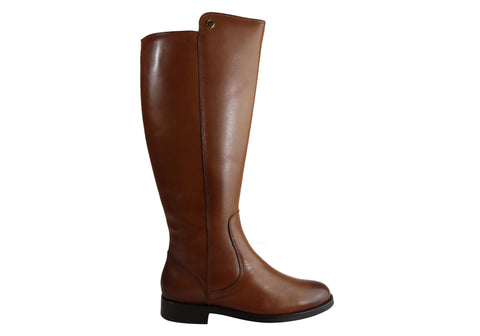 Villione Voyager Womens Comfort Leather Knee High Boots Made In Brazil