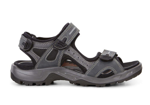 ECCO Mens Offroad Comfortable Leather Adjustable Sandals