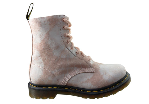 Dr Martens 1460 Pascal Tie Dye Womens Leather Fashion Lace Up Boots