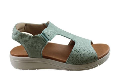 Usaflex Picton Womens Comfortable Leather Sandals Made In Brazil