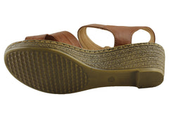 Comfort Leisure Wynn Womens Comfort Wedge Sandals