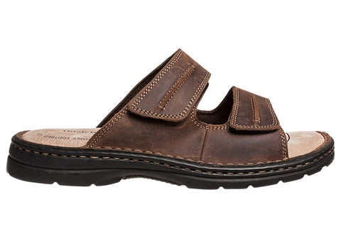 Hush Puppies Slider Mens Comfortable Leather Sandals