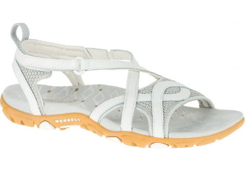 Merrell Womens Comfortable Flat Supportive Sandspur Delta Wrap Sandals