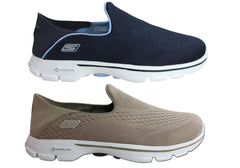 Skechers Go Walk 3 Domination Womens Comfort Casuals