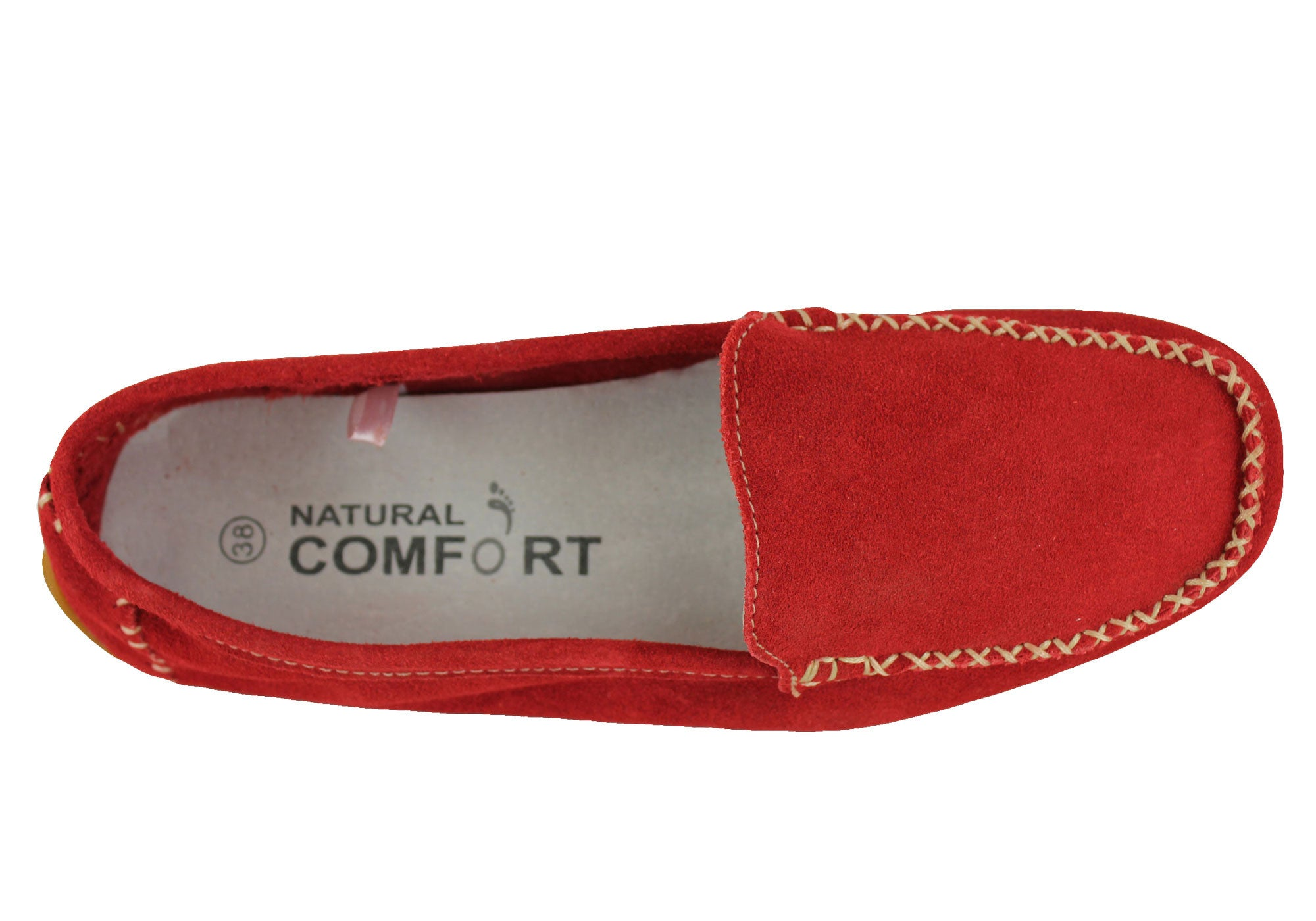 Natural Comfort Womens Loafers Moccassins