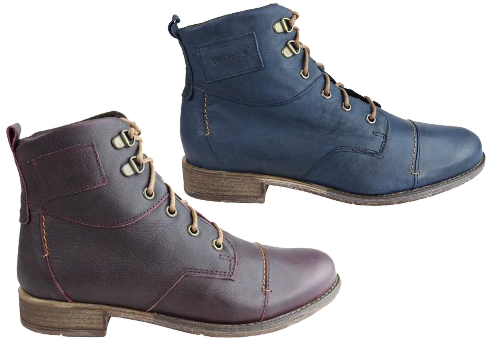 5aeb4112b6a40 Josef Seibel Sienna 17 Womens Comfort Leather Ankle Boots | Brand ...