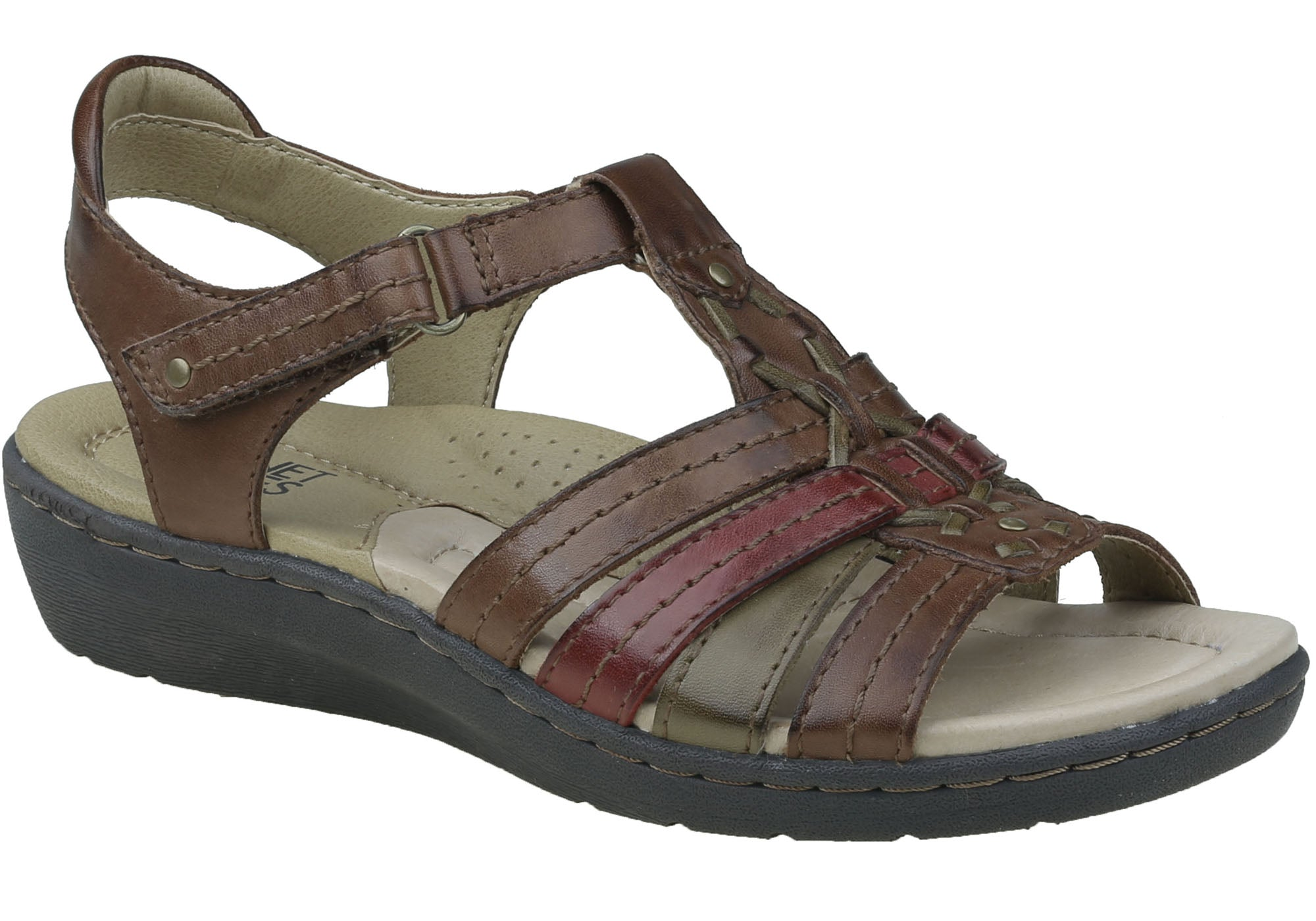 bbb887d5df90 Brown Multi · Black · Cocoa · Brown Multi · Black · Cocoa · Brown Multi · Planet  Shoes Syrup Womens Comfortable Leather Supportive Sandals