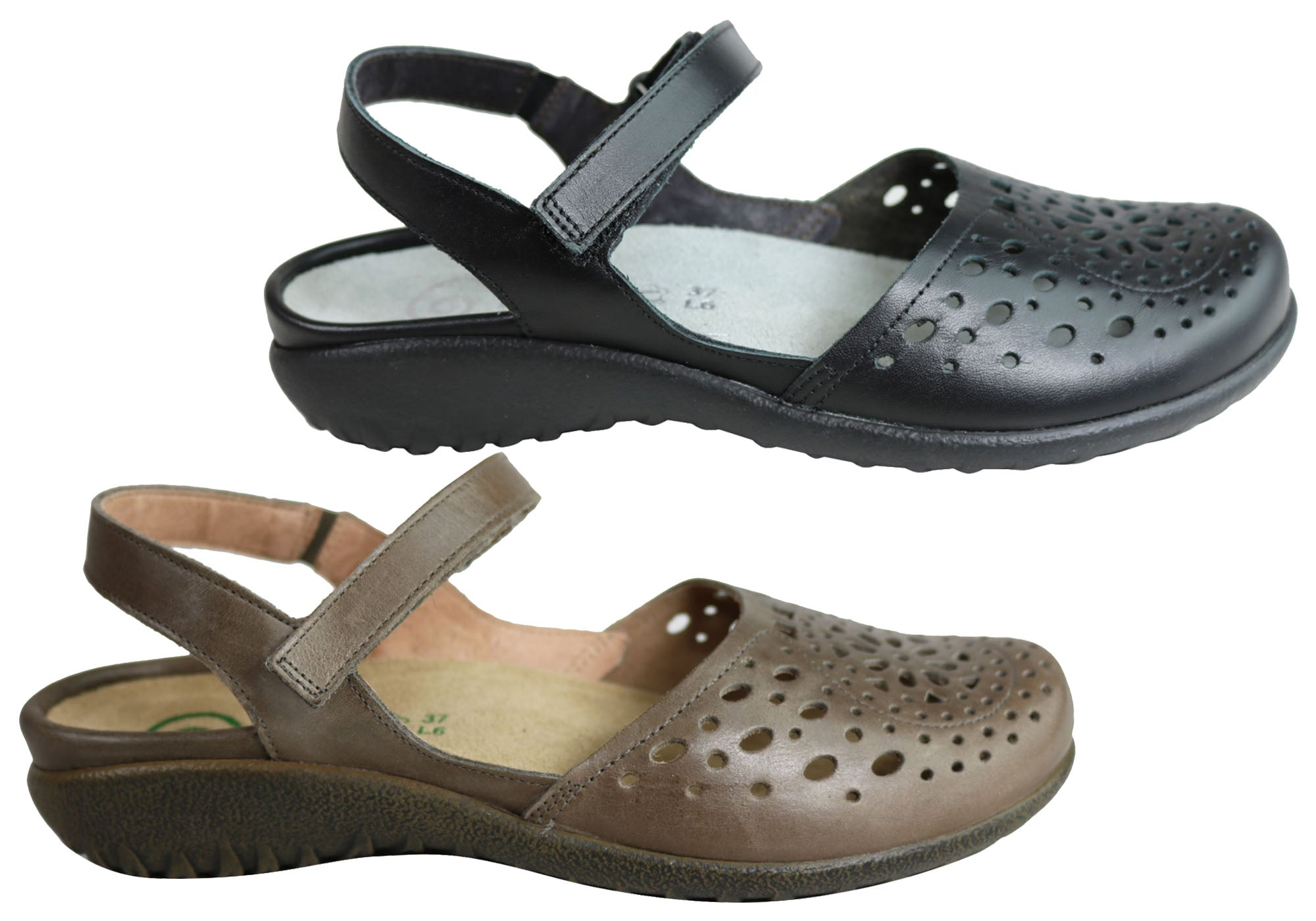 san francisco official cheap sale Brand New Naot Arataki Womens Closed Toe Orthotic Friendly Leather ...