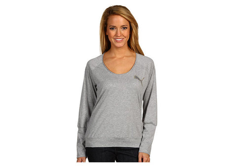 Puma Womens Long Sleeve Roll Up Top