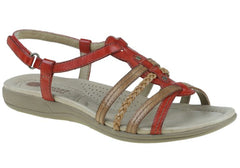 Planet Shoes Celina Womens Leather Comfy Sandals
