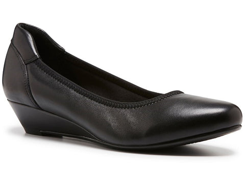 Hush Puppies Prahran Womens Classic Wedge Court Shoes