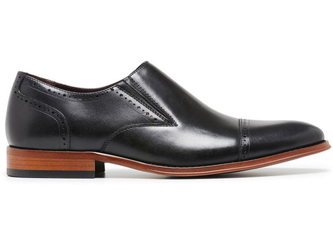 Julius Marlow Flow Mens Leather Fashion Slip On Dress Shoes