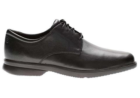 Rockport Allander Mens Leather Wide Fit Lace Up Dress Shoes
