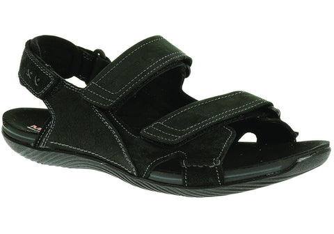 Merrell Bask Duo Mens Comfortable Leather Sandals
