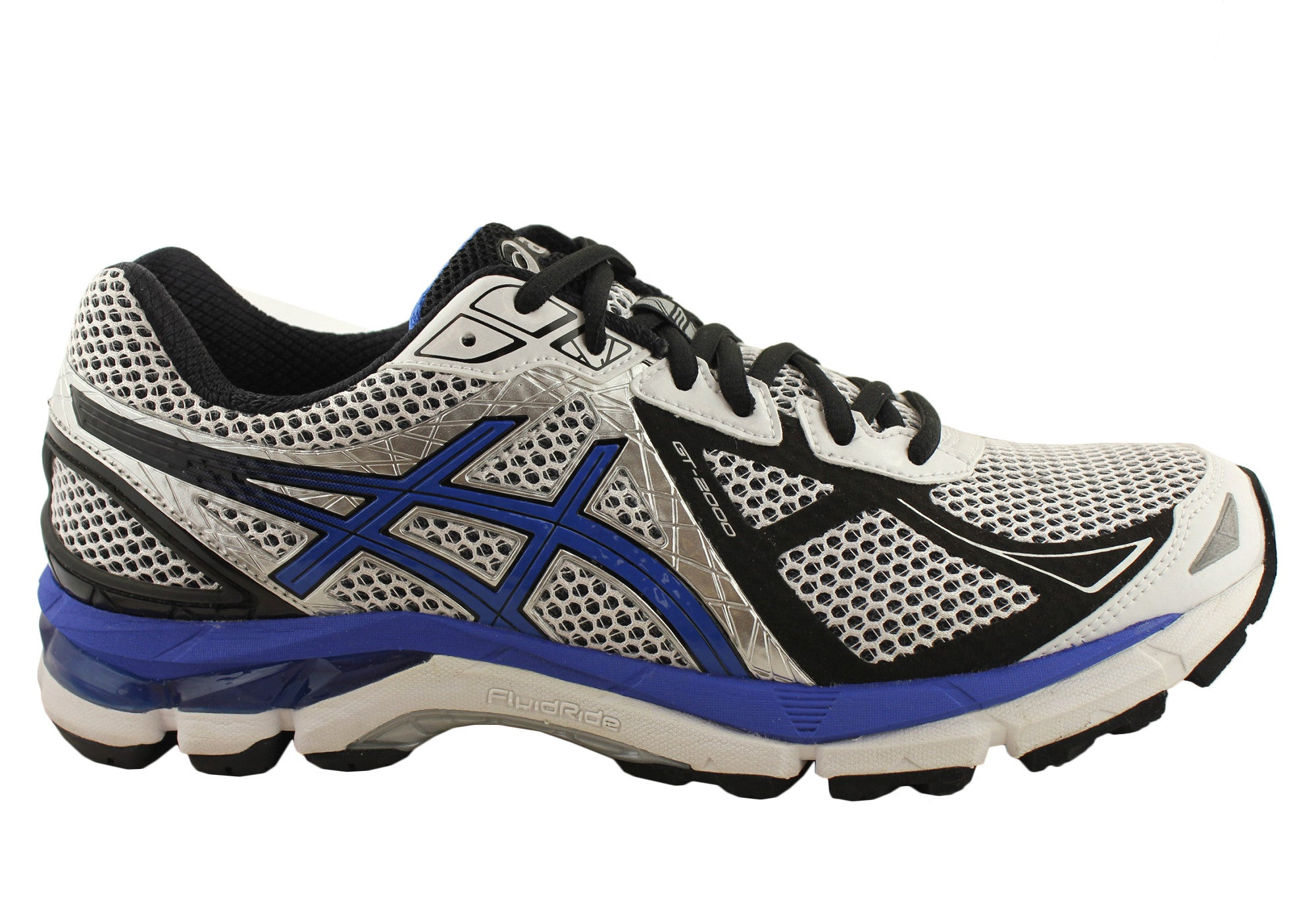 724021ed25c5 Asics GT-2000 3 Mens Cushioned Running Shoes (2E Wide Width)