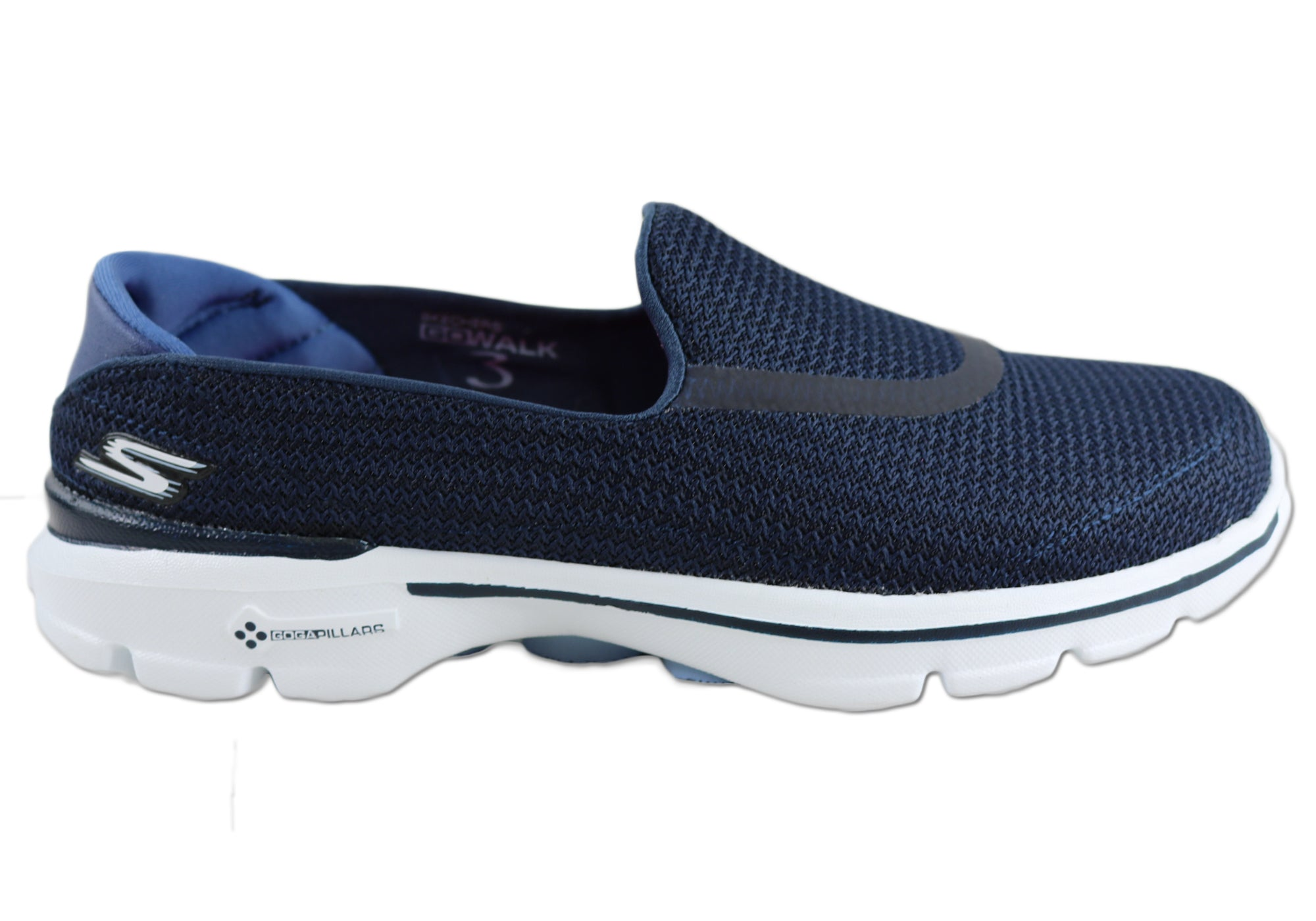 30e230a75259c Skechers Go Walk 3 Womens Lightweight Cushioned Comfort Slip On ...