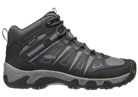 Keen Oakridge Mid Waterpoof Mens Wide Fit Hiking Boots