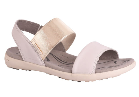 Hush Puppies Lauper Womens Leather Comfort Fashion Flat Sandals