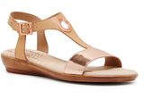 Hush Puppies Dusk Womens Comfortable Leather Sandals