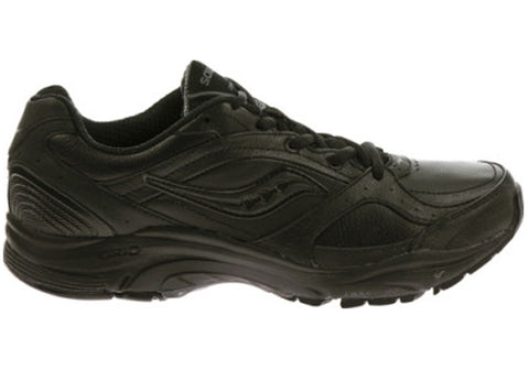 Saucony Womens Grid Integrity St2 Extra Wide EE Wide Width Black Shoes