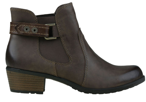 Planet Shoes Town2 Womens Comfortable Leather Ankle Boots