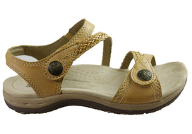 Planet Shoes Crop 2 Womens Cushioned Comfortable Supportive Flat Sandals