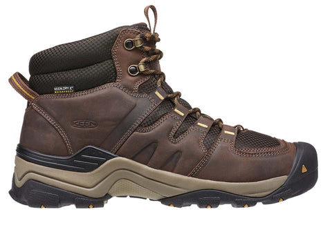 Keen Gypsum II Mid Mens Waterproof Wide Fit Hiking Boots