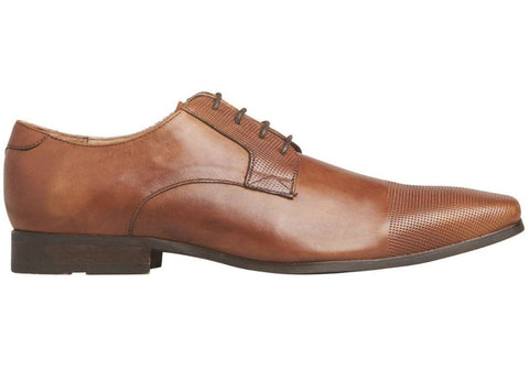Windsor Smith Astar Mens Comfortable Leather Lace Up Dress Shoes