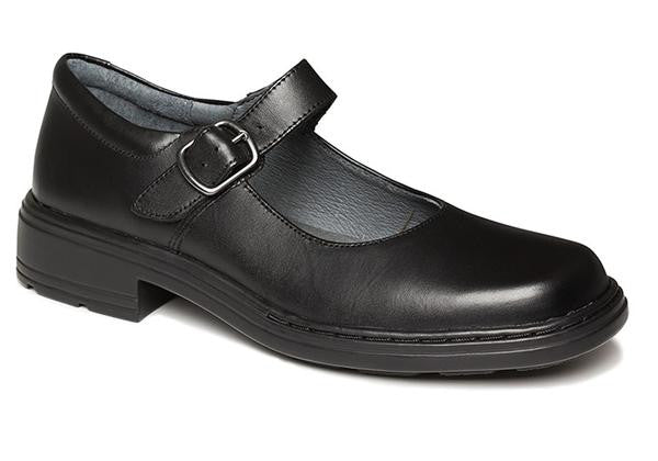 37269f16113c Clarks Intrigue Junior Girls Black Leather School Shoes