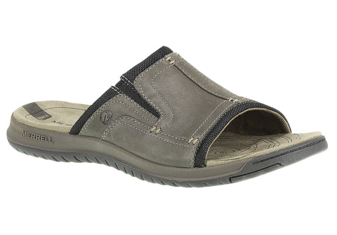 Merrell Traveler Tilt Slide Mens Leather Sandals