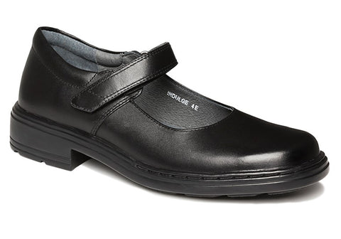 Clarks Indulge Junior Girls Black School Shoes
